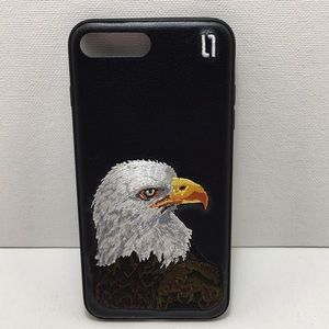 iPhone 6-7-8 Embroidered Eagle Case